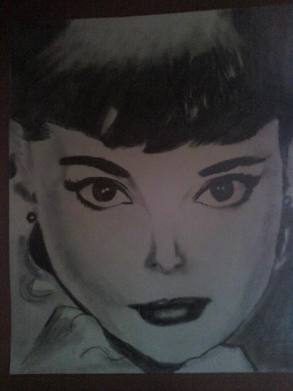 Audrey Hepburn by BiSOu